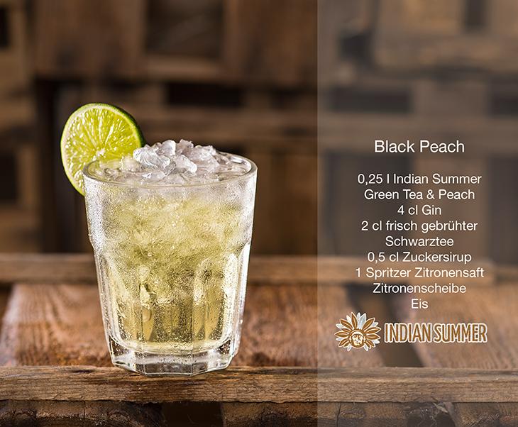 Black-Peach
